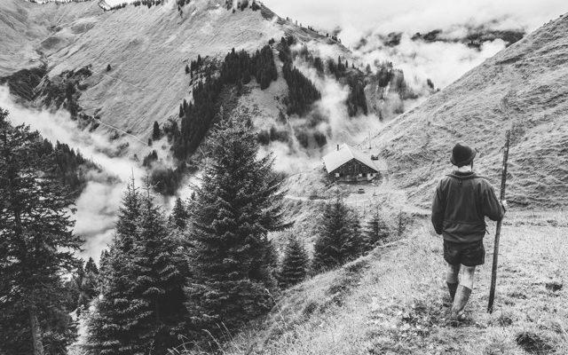 """Buchprojekt: """"Gamsfreiheit – vom Älplerleben in Vorarlberg"""""""