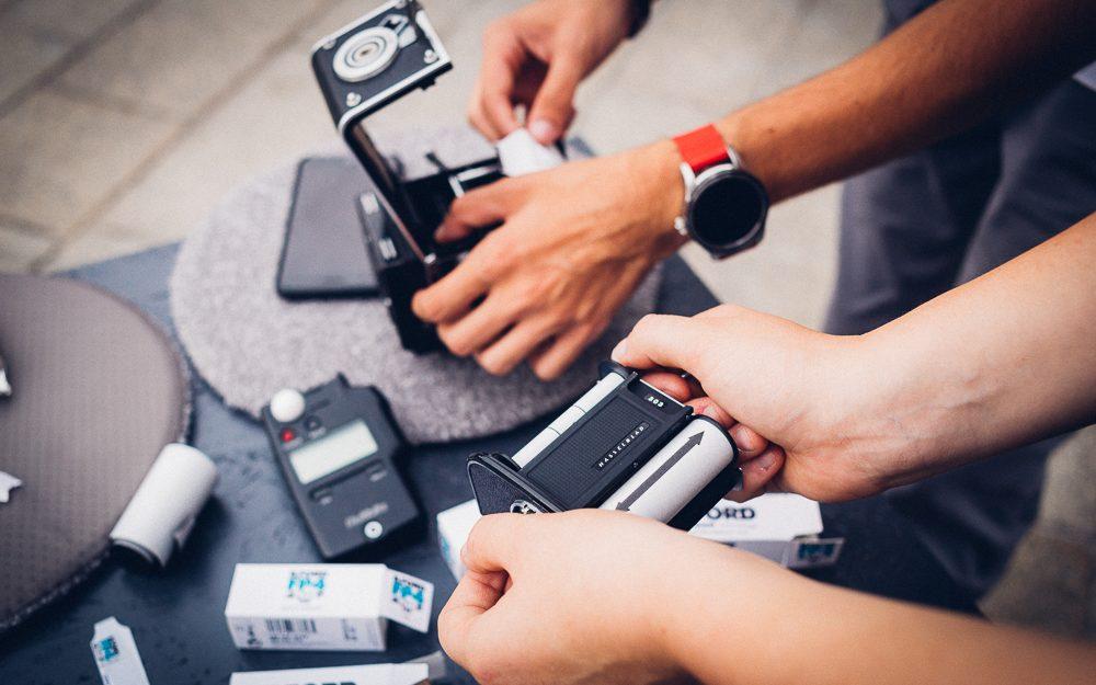Analoges Fotografieren in digitalen Zeiten